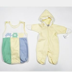 NWT Vintage Inspired Body Suit Matching Set